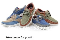 Korean denim style sneaker autumn-summer blue For mens sneakers new 2014 shoes men casual discount online zapatos de hombre