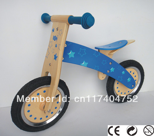 Wholesale wooden motor bicycle for children in 3-8 years old to keep balances..(China (Mainland))