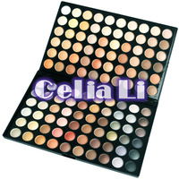 120 color shimmer and matte Warm Neutral Double Stack EyeShadow Palette [PE33]