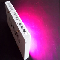 300w white body led grow light 100pcs 3w dhips indoor grow green house full spectrum 6 band hydroponics system save energy
