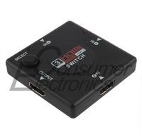 5Pcs Wholesale Mini HDMI Port 3 Port HDMI Splitter HDMI Switch Switcher for HDTV 1080P Vedio