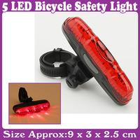 3 pcs/Lot_5 LED Bicycle Bike Safety Light