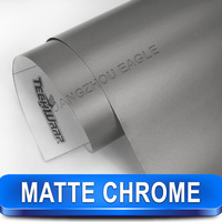 Bubble Free Matte Chrome matt Wrap For Wrapping On Cars