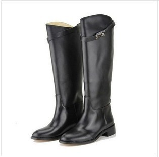 Boots for Women 2013 New Women Brand Shoes Fashion Genuine Leather knee-High Winter Boots, Wholesale, Hot(China (Mainland))