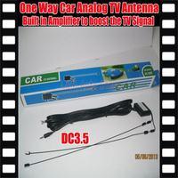 Car Analog  Antenna  Car analog TV antenna with built-in signal amplifier Car TV antenna Car Analog  antenna with TV