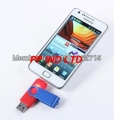 New 2014!!! Smart Phone USB Flash Drives pen drives OTG external storage micro usb memory stick for Samsung Free shipping(China (Mainland))