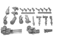 Forge World  The Horus Heresy  CATAPHRACTII SPECIAL WEAPONS SET  Resin Models Free Shipping