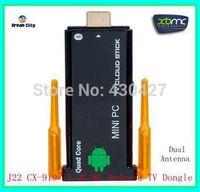 U29-4R CX-919 II Quad core RK3188  android dual antenna TV Box 2GB RAM 8GB ROM Stronger signal Bluetooth tv stick