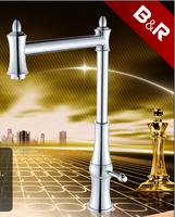 [B&R]Hot Sale Kitchen Faucet Special Features 360 Rotation Kitchen Mixer Tap Single Handle SW-09103