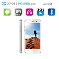 "DHL/EMS/KLEX Freeshipping Jiayu G5 MT6589T Quad-core CPU1.5G 2G+32G/1G+4G  4.5"" IPS Gorilla glass screen 13MP 3G black/white"