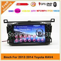 8 inch 3G Car DVD GPS for 2013 2014 Toyota RAV4 with 3G GPS Bluetooth Radio TV USB SD DVD Steering wheel Control Ipod