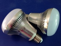 Dimmable Free shipping R80 LED Bulb Light E26/E27/B22 White High Brightness 10W R80 led light 2years warranty