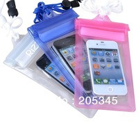 Waterproof PVC Bag Case Underwater Pouch For Samsung galaxy S3 S4 For iphone 4 4S 5 5S 5C All mobile phone Watch ect