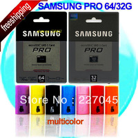 100PCS/lot Samsung Micro SD card 64GB 32GB New Pro Series class 10 MicroSD Memory Card TF 64GB 32 GB with free SD Adapter