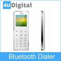 Universal Fashion Music Lcd Screen Wireless Bluetooth 3.0 Keypad Dialer Mini Mobile Phone Headset Handsfree