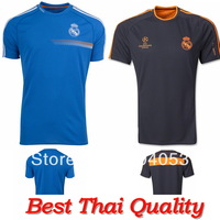 Real madrid Training Shirt 2014, Spain Real madrid Training Blue Jersey,Men's Real Madrid Training Futbol camisas