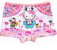 Wholesale Cotton Girls Panties Underwear Kids Underpants Shorts Pants Hello Kitty Dandelion Colorful Boxer