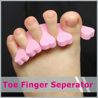 10 X  Toe Spacer Toe Divider Manicure Finger Seperator Tools 5paris=10pcs New arrival