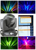 2 years warranty hot selling sharpy 7R beam 230w moving head light With Touch Screen/7R zoom 230W Beam moving head light