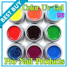 glitter color gel promotion