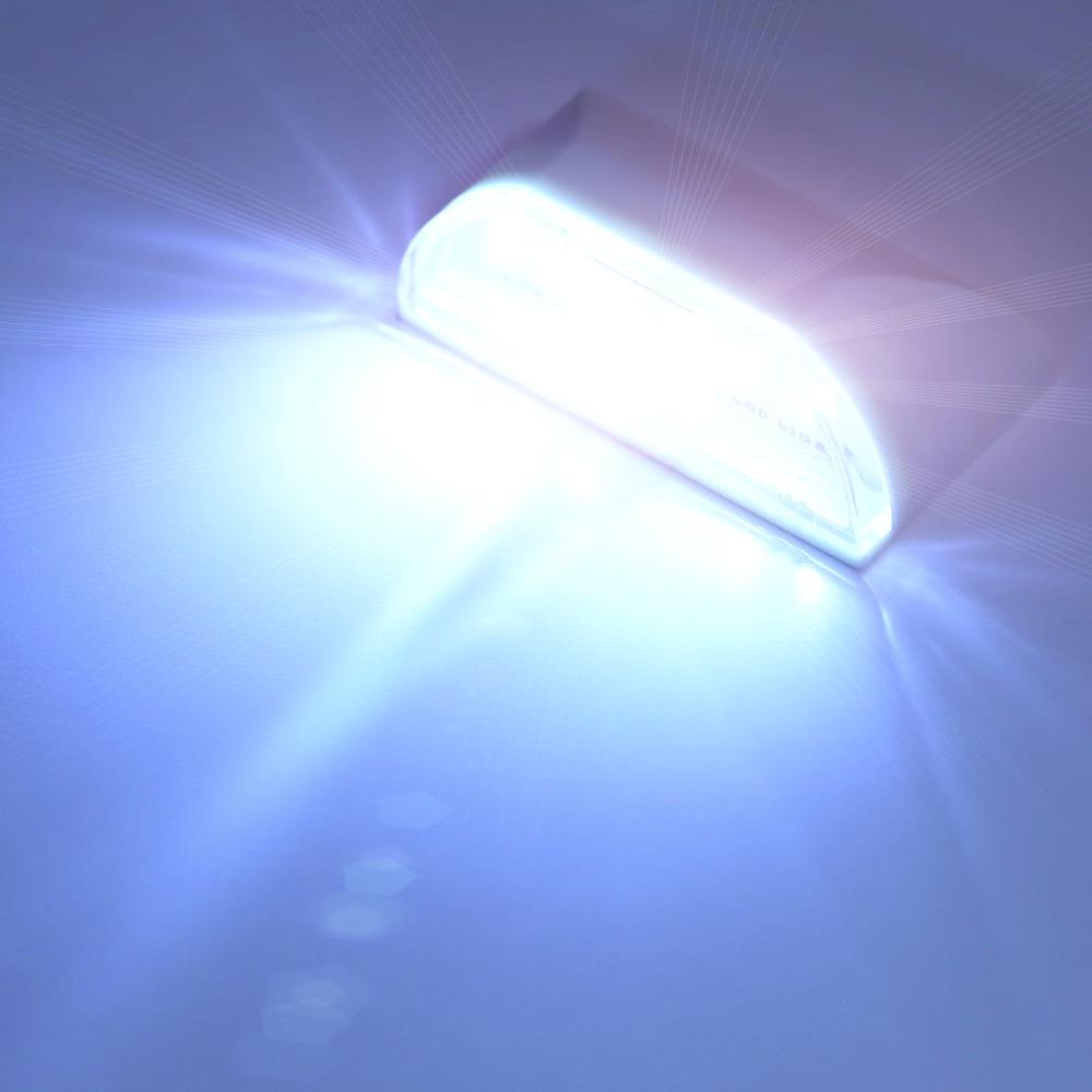 1pc 4 LED PIR Infrared Detection Motion Sensor Home Door Keyhole Light Lamp FreeShipping Brand New(China (Mainland))