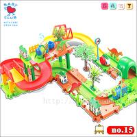 Thomas train track electric train set Baby children's educational toys Small splicing rail train set  include 44pcs parts 2 car