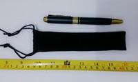 Black Sealing pen flannelette Pencil Case. Fashion Pencil Case. Size 16cm * 3.5 cm