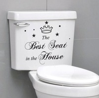 """ The Best Seat In The House "" Wall Decal Art Sticker Free Shipping"