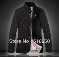 Europe And The United States To Keep Warm With Thick Cotton-Padded Jacket Menswear Coat Free shipping