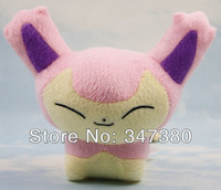 "5pcs Free shipping Pokemon Plush Toys 5.5"" Skitty Cute Soft Stuffed Animals Toy Figure Collectible Doll Children Christmas Gift"