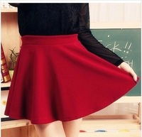 Free Shipping 2013 Newest Candy Colors Sweet Women's Fashion Pleated Skirts Princess Skirt Lady Mini Skirts Clothing Gift