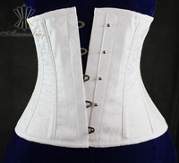 Authentic Steel Boned Cotton Slimming Waist Cincher Corset For Waist Training And Body Shaper 3XL 4XL 5XL 6XL Plus Size