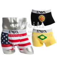 Free shipping mens underwear designer boxers male sexy underwear gay High quality underwear for men Fringe men's underwear 5pcs