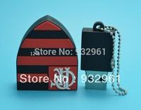 Free shipping +drop ship Cheapest pen drive and full capacity memory card Disk pendrive  Flamengo club usb flash drive