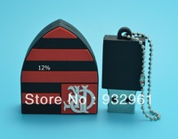 Free shipping +drop ship Cheapest pen drive and full capacity memory card Disk pendrive  Flamengo club usb flash drive
