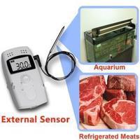 Mini Logger RC-4 updated version of RC-3, CE mini USB LCD screen temperature data logger external sensor available