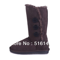 Wholesale! Name Brand Boots 1873 Australia classic tall waterproof cowhide genuine leather snow boots warm Women shoes-B0001