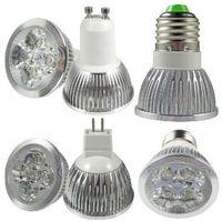 200pcs/lot Dimmable 5W MR16 E14 E27 GU10 DC12V White Warm White LED Downlight LED Bulb Light Retail and Wholesale  Free Shipping