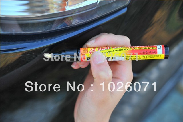 New Car Care Products Fix It Pro Car Scratch Repair Remover Pen Simoniz Clear Coat Applicator(China (Mainland))