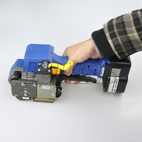 K323 Sealless Battery operated plastic strapper tools for 12.7-19.0 mm (3/8) is used for strapping plastic.