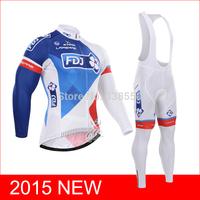 NEW cycling jersey/ Long Sleeve cycling clothing men set +Bib Bike Pants  Breathable Quick Dry Size S-3XL