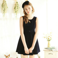 New Fund Of 2014 Autumn Outfit Lady's Dress Sleeveless Princess Dress W23045