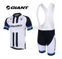 Road /cycling jersey short sleeve&cycling bib shorts sets Black/white new 2014 cycling clothing ciclismo/cycling/bike jersey