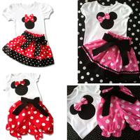 free Shipping comfortable  cartoon kids girl dress