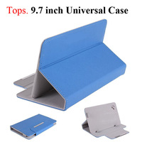 "9.7 inch Universal Casual  PU Leather Stand Case Flip Cover  for 9.7"" Tablet PC 8 Color"
