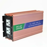 2000 Watt Max. 4000 Watt Pure Sine Wave Power Inverter 12V DC to AC 220V 230V Soft Start High Quality