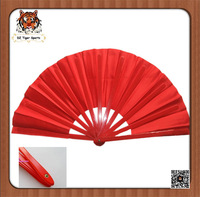 Chinese Traditional Plastic ribs and Silk Folding Fan