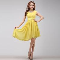 2015 new fashion short irregularity double-shoulder party dress evening dress