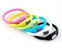 EMS Freeshipping 500Pcs/Lot Fashion Wrist sport Watch 1ATM waterproof anion silicone watch  Wrist watch