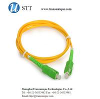 Singlemode Simplex SC/APC to SC/APC Fiber Optic Patch Cord